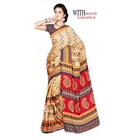 D No 2751 B Kasturi - Kasturi Silk Series - Office / Daily Wear Saree