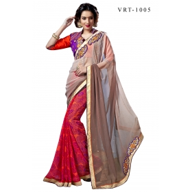 D No 3005 Vrt - Virasat Vol - 3 Series - Office / Daily Wear Saree