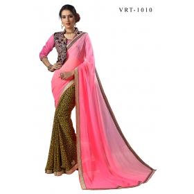b5db875b922c1 D No 3010 Vrt - Virasat Vol - 3 Series - Office   Daily Wear Saree