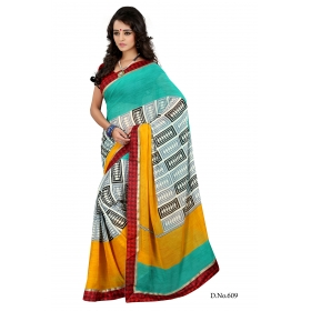 D No 609 A - Rich Guest Series - Office / Daily Wear Saree