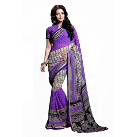 D No 1002 B - Real Feel Series - Office / Daily Wear Saree