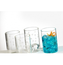 Borosil Vision Glass Galaxy - 350 Ml Set Of 6