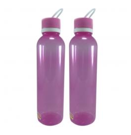 Ratan Plastic Aqua 1000 Ml Bottles (pack Of 2 ,pink)