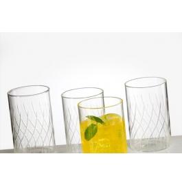 Borosil Vision Glass Cascade - 295 Ml Set Of 6