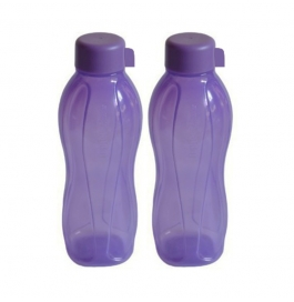 Ratan All Fresh Plastic 1000 Ml Bottle (pack Of 2, Purple)