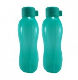 Ratan All Fresh Plastic 1000 Ml Bottle (pack Of 2, Green)