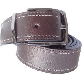Men Formal Brown Synthetic Belt