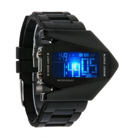 New Fighter Sport Designer 7 Colour Digital Led Men's Watch