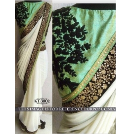 Sas Creations Grand Fab Georgette Multi Saree