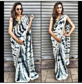 Sas Creations Pretty Silk Multi Saree