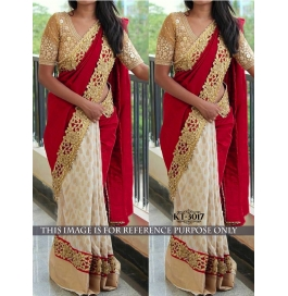 Sas Creations Georgette Multi Saree
