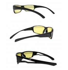 Pack Of 3 Nightdrivesg_yellow Wayfarer Sunglasses  (yellow)