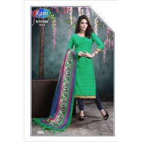 Bhagalpuri Office / Daily Wear Unstitched Salwar Suit &8211; 305