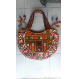 Handicraft Kutchi Red Purse