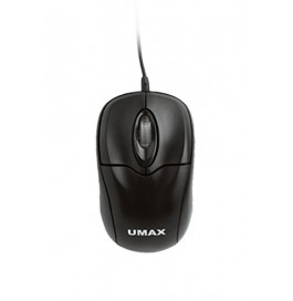 Umax Usb Mini Mouse - Black With Black