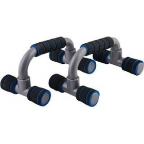 Foldable Push Up Bar,foam Padded Gripping, Set Of 2 Stands, Colour Assorted.