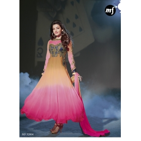 Kajal Agarwal Exclusive Fancy Semi Stitched Anarkali