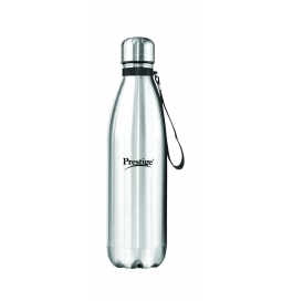 Prestige Thermopro Vaccum Water Bottle, 1 Litre, Silver