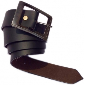 Men Casual, Party, Formal, Evening Black Artificial Leather Belt