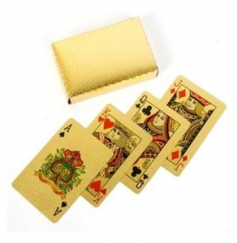 24kt Gold Plated Playing Card