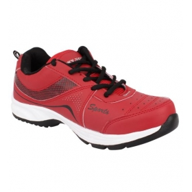 Sarva Mens Sport Shoe Red