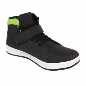 Sarva Mens Casual Shoes Black
