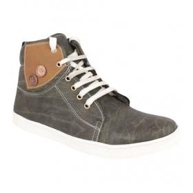 Sarva Mens Casual Shoe Gray