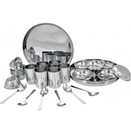 Meera 36 Pcs Stainless Steel Dinner Set