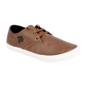 Sarva Mens Casual Shoe Brown