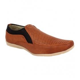 Sarva Mens Brown Casual Shoes