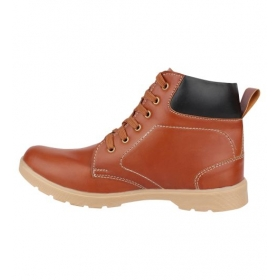 Sarva Mens High Neck Shoe