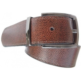 Men Formal Brown Synthetic Belt