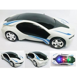 3D Car With Light And Music