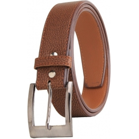 Men Casual Party Formal Brown Artificial Leather Belt