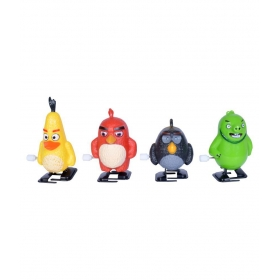 4 Cute Angry Birds Wind Up Toys For Kids