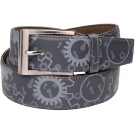 Men Casual Gray Belt