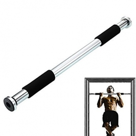 Multi-exercise Door Gym Bar, Pull Up Bar, With Cushioned Grip