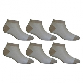 Footmate Socks Women Skin Fishnet Socks (pack Of 6)