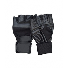 Weight Lifting Gym Gloves Nk-02 Black