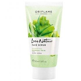 Love Nature Aloe Vera Face Scrub Hydrating Scrub(50 Ml)