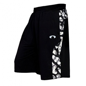 Arc Camo Black Shorts