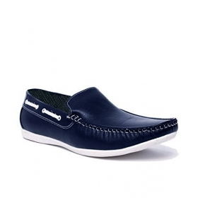 Men's Blue Loafer Shoes