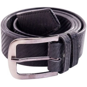 Men Casual Black Synthetic Belt