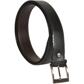Men Casual Black Artificial Leather Belt