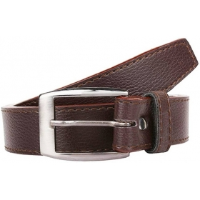 Men & Women Brown Artificial Leather Belt