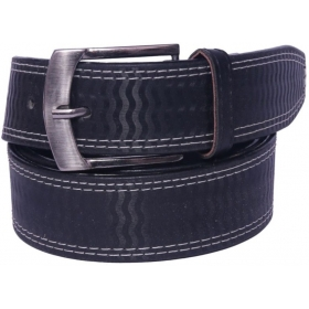 Men Black Synthetic Belt