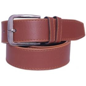 Men Brown Synthetic Belt