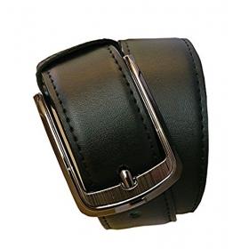 Men's Black Pu Leather Belt
