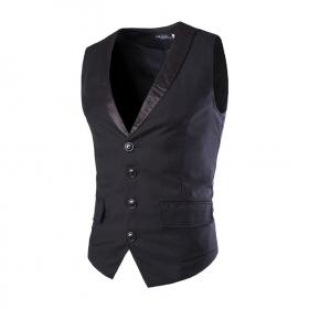 Slim Fit Tuxedo Waistcoat