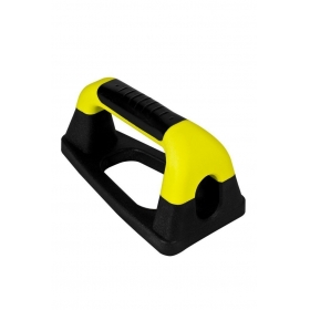 Men/girls Push Up Bar Pair Black & Yellow Gym Push Up Stands Tools